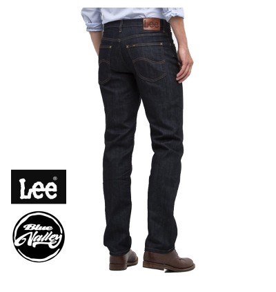 ORIGINAL LEE JEANS 200-23610 REGULAR FIT (BLACK)