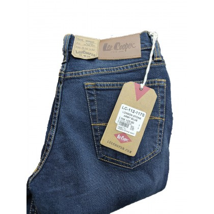 Lee Cooper Slim Fit Stretchable Jeans London Stoned Army Blue LC112-117S
