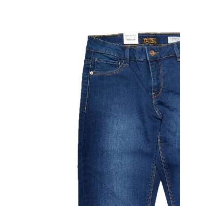 Pipers Slim Fit Stretchable Ladies Jeans P952-49809 (Blue)